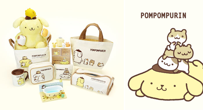 『ポムポムプリンいつでもいっしょ!デザインシリーズ』新発売!