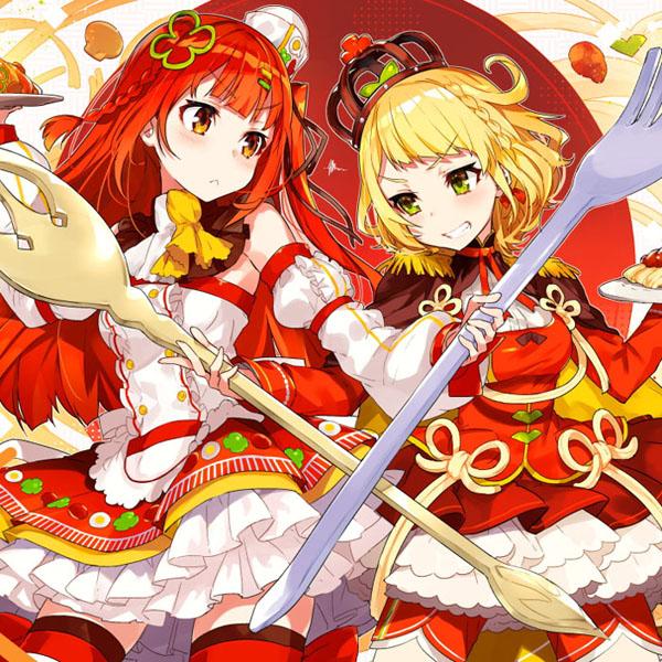 「日本のスパゲティ代表」の座をかけて、擬人化キャラクターが対決!