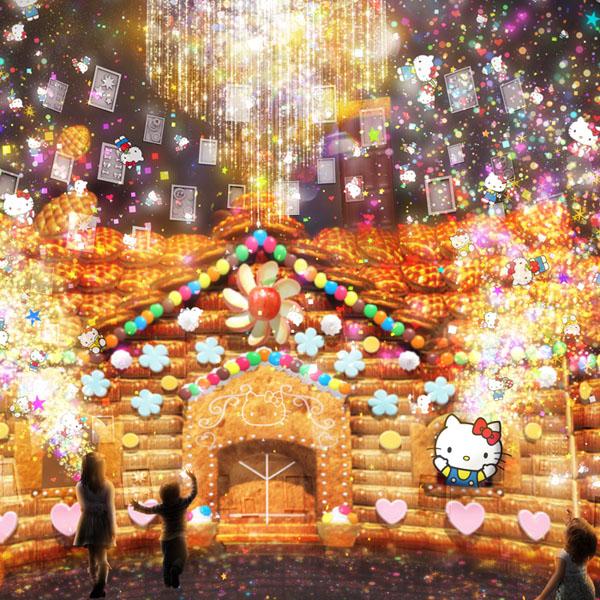 ハローキティの夢の世界を表現 創作オリエンタルレストラン「HELLO KITTY SMILE」オープン!