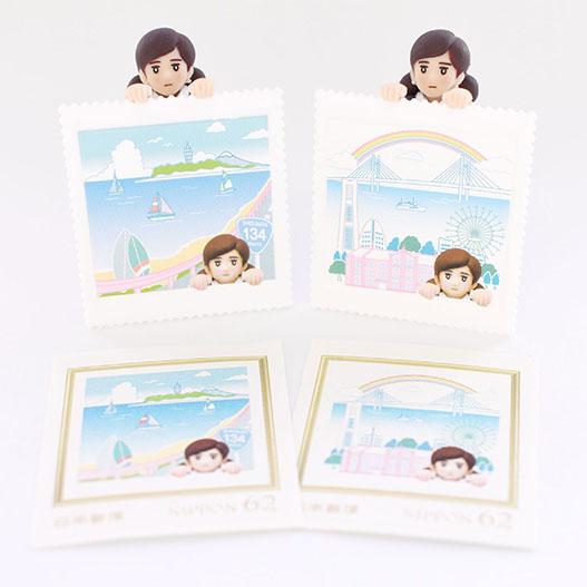 「ご当地フチ子」が郵便局に初登場!「郵便局のフチ子」発売!