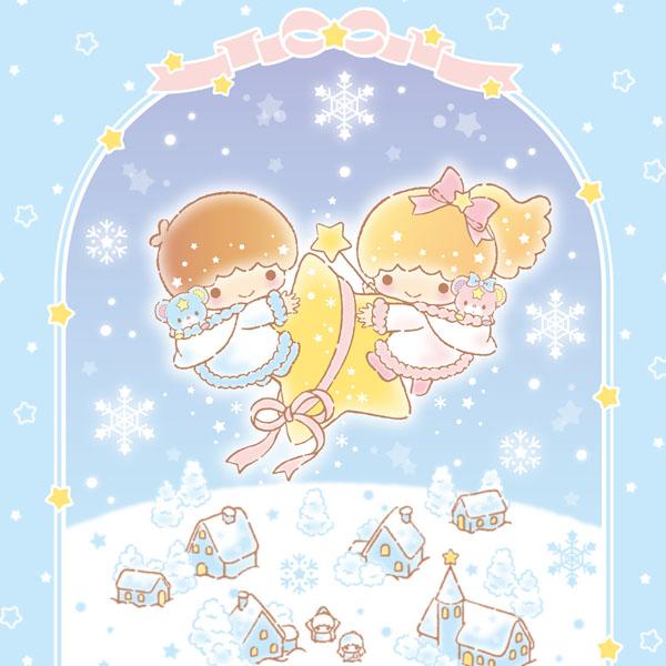 EGG&SPUMA×サンリオ Little TwinStarsコラボカフェ「Twinkle Snow Cafe」 期間限定OPEN!