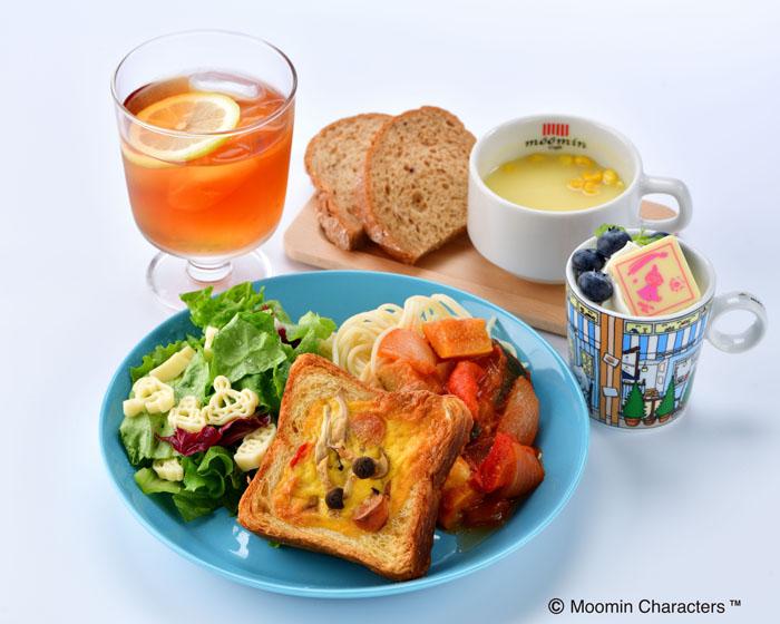 ムーミンハウスカフェ 東京スカイツリータウン・ソラマチ店より はとバス限定メニューが登場!