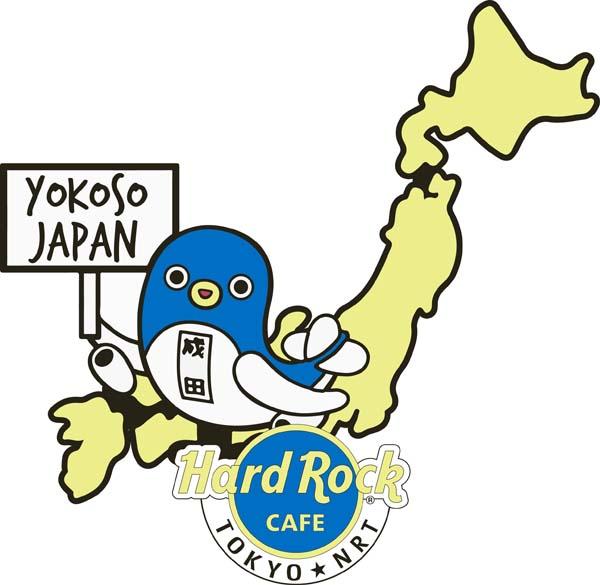 ハードロックカフェ東京 成田空港 ロックショップ『うなりくんピン』