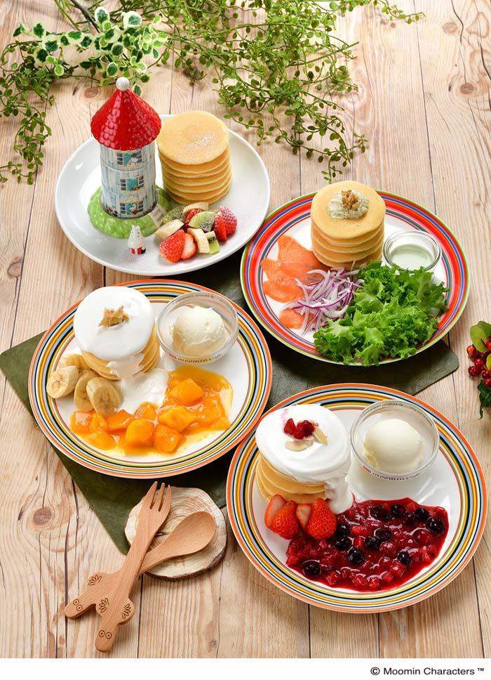 【ムーミンカフェ】『PANNUKAKKU たべよう、パンケーキフェア。』を開催!