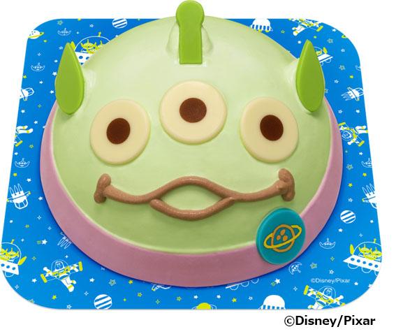 『トイ・ストーリー』で人気の 'エイリアン' がアイスクリームケーキデザインで登場!