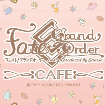 「Fate/Grand Order Design produced by Sanrio」カフェ 第3弾 装い新たに東京で再び開催決定!!