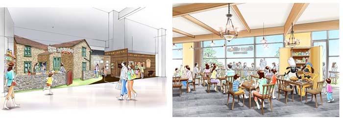 ミュージアムカフェ『ひつじのショーンビレッジ ショップ&カフェ』