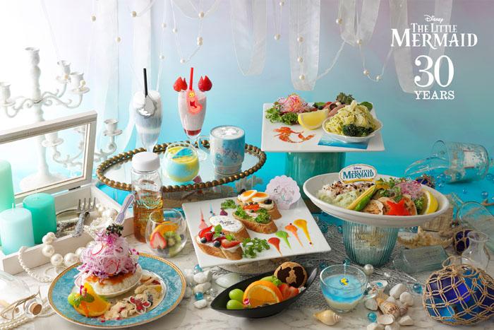 ディズニー映画『リトル・マーメイド』の公開30周年を記念して「リトル・マーメイド」OH MY CAFEオープン!!
