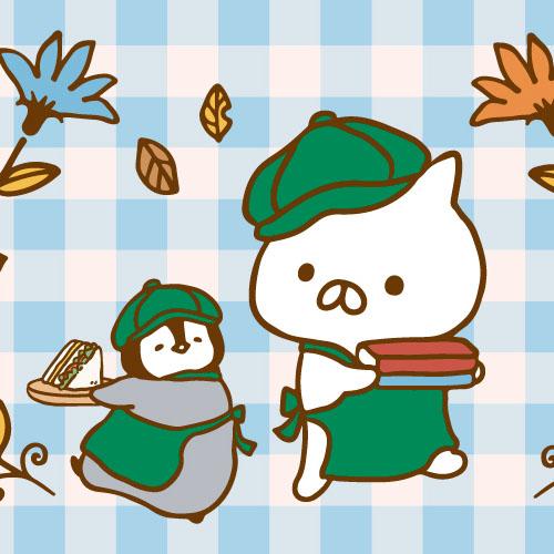 ~大好評につき再び開催決定!~「ねこぺんBOOK CAFE」期間限定オープン!!