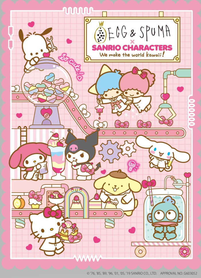 「EGG&SPUMA」×「サンリオ」コラボの集大成!最後の「サンリオキャラクターズカフェ」行くしかない!