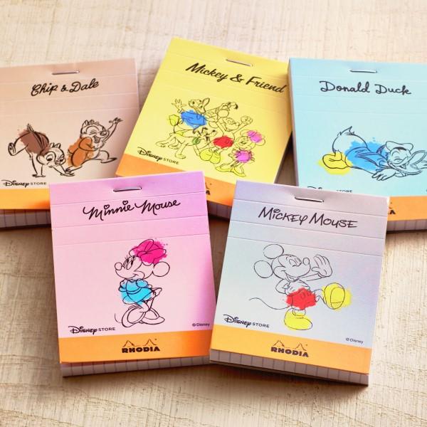「ブロックロディア」にミッキーやドナルドが!ディズニーストアオリジナル文具が誕生♪