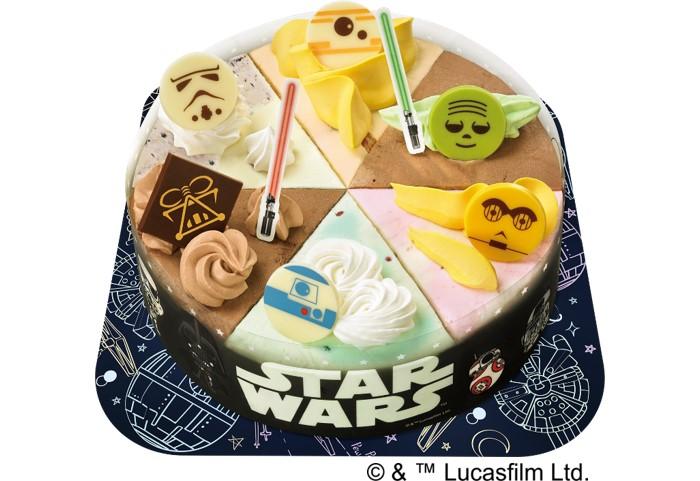 サーティワンから「スター・ウォーズ」デザインのアイスケーキ誕生!2020年元日発売♪
