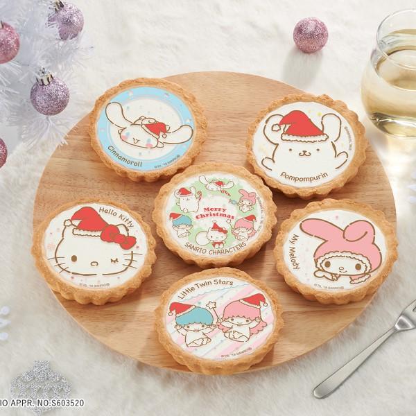 サンリオキャラクターズがキュートなクリスマスタルトに!イオンで販売中♪