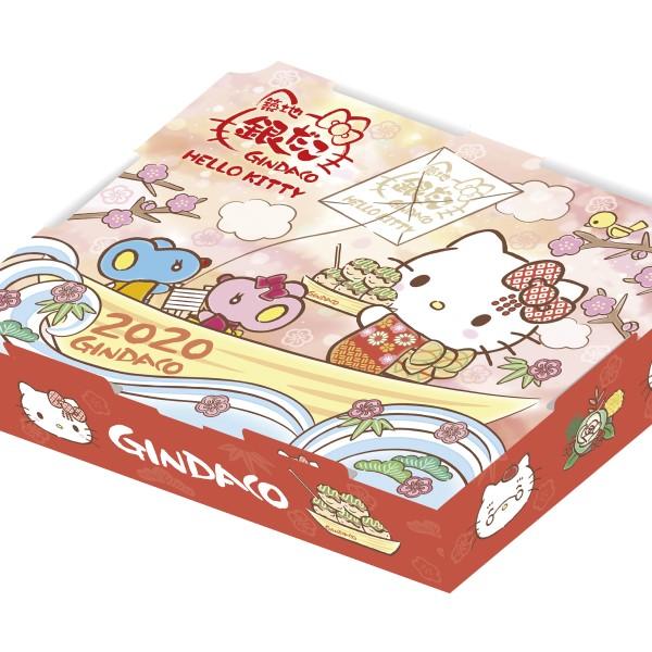 「築地銀だこ」×「ハローキティ」コラボパックが元旦発売!