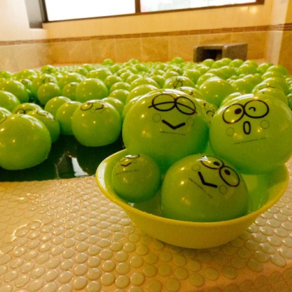 「けろっぴ」×「極楽湯」コラボ開催!コラボ風呂にコラボフードメニューが登場♪