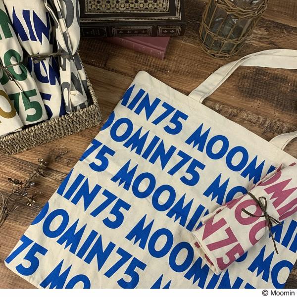 「ムーミン」75周年を記念したトートバッグがムーミンカフェ・ショップに登場♪