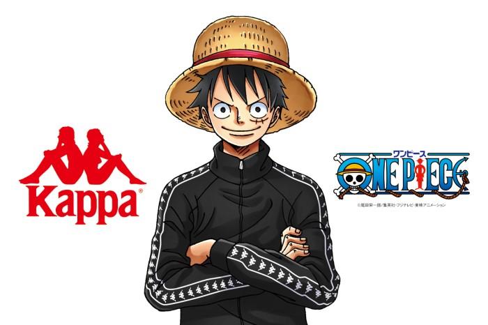 「ONE PIECE」とスポーツブランド「Kappa」コラボアイテムが登場!