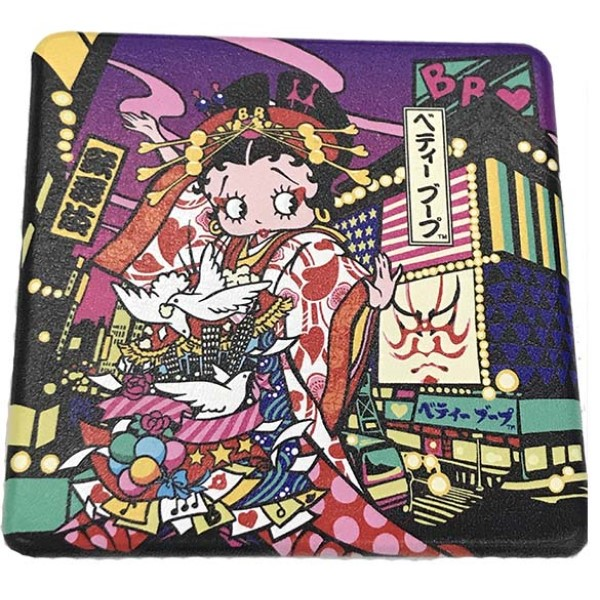 「ベティーブープ」×「歌舞伎」異色のコラボグッズが誕生!