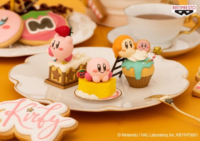 「星のカービィ」お菓子モチーフフィギュア第2弾♪ゲーセンでGETして!