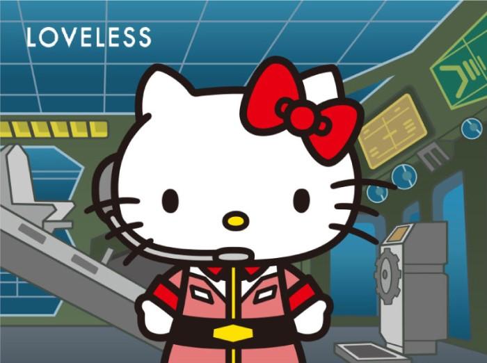 「ガンダム&ハローキティプロジェクト」×「LOVELESS」コラボアイテム発売!