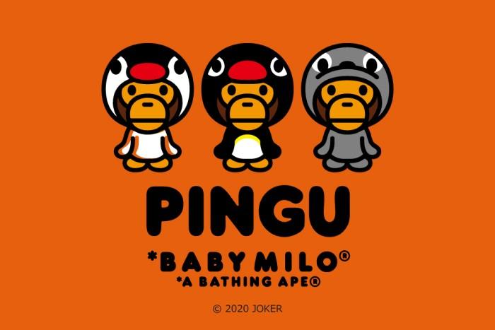 ピングーが「A BATHING APE®」とコラボ!オリジナルデザインのアイテム登場
