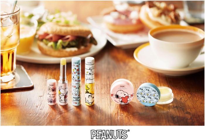 「スヌーピー」×「DHC」コラボ第7弾は薬用リップクリーム&薬用リップバーム!