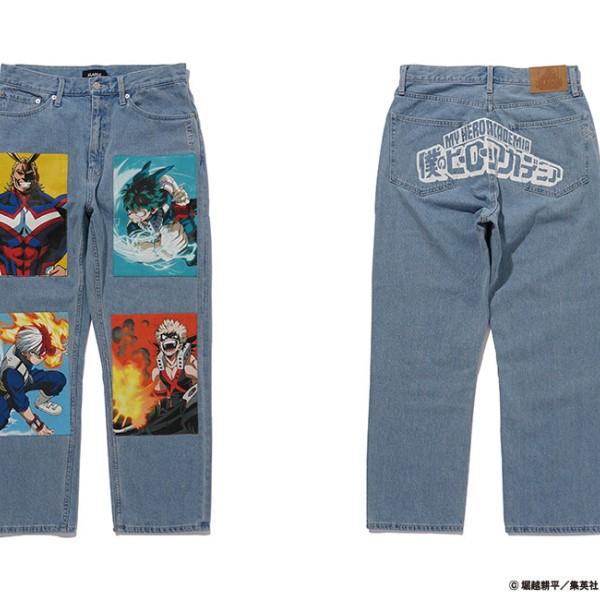 「僕のヒーローアカデミア」×「XLARGE」コラボコレクションが登場