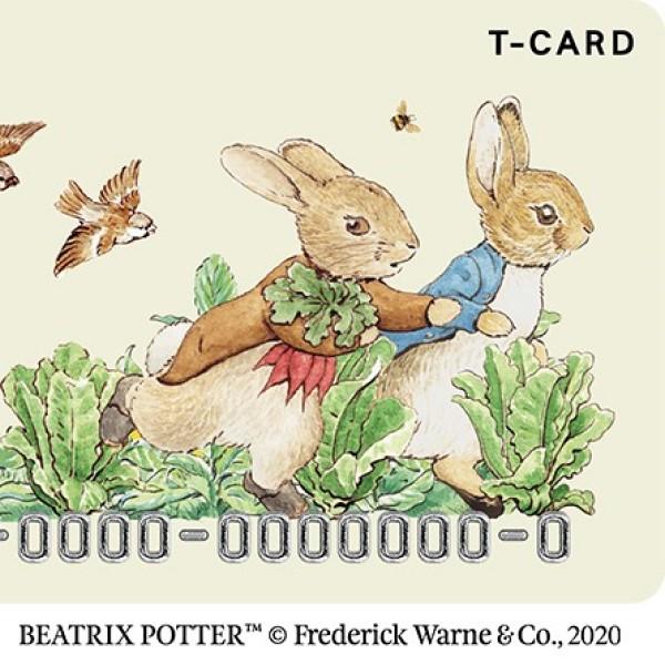 「ピーターラビット」デザインのTカード登場!オリジナルグッズもあるよ♪