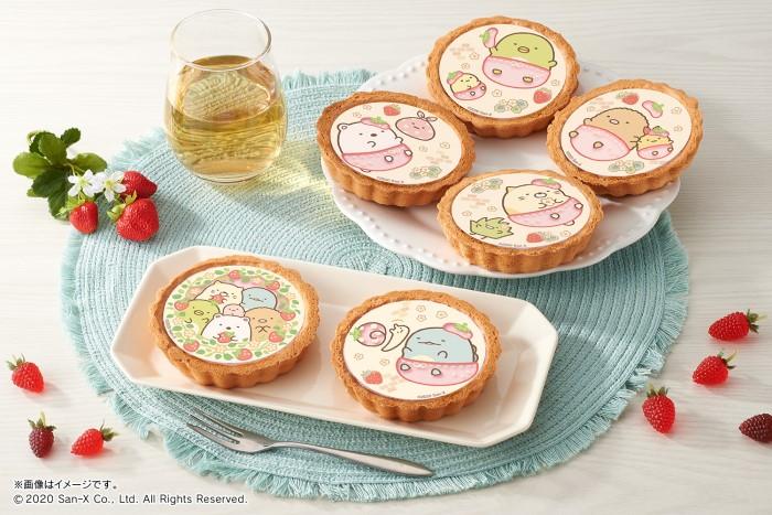 「すみっコぐらし」のタルトが新発売!春らしいイチゴ味♡