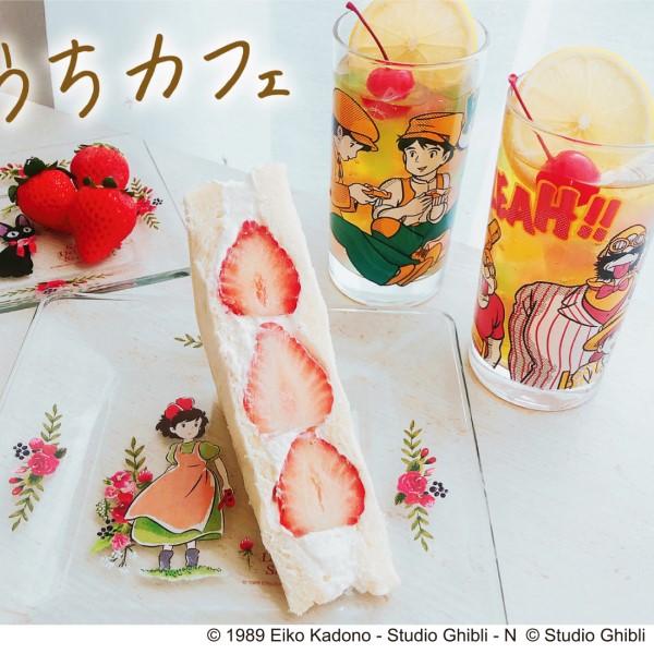 ジブリ作品のワンシーンをアメコミ風にデザイン♪「ヴィンテージグラス」販売中!
