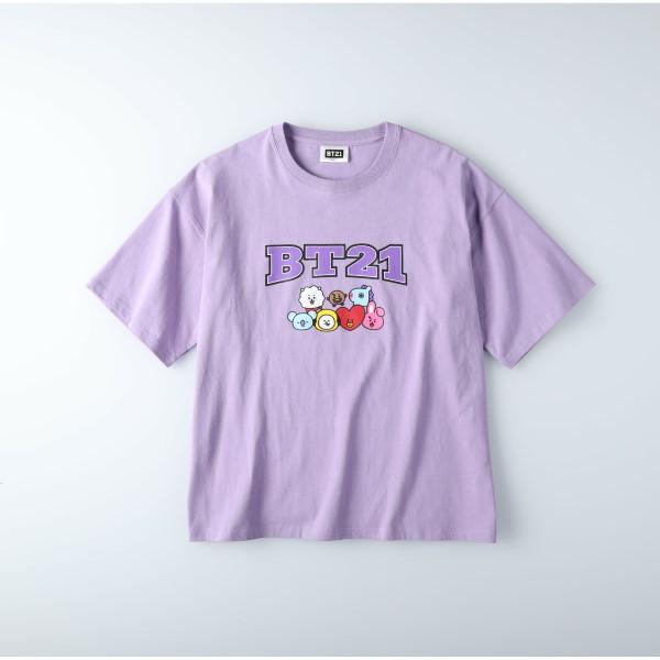 「BT21」のTシャツがライトオンに登場!オンラインショップ限定カラーも♪