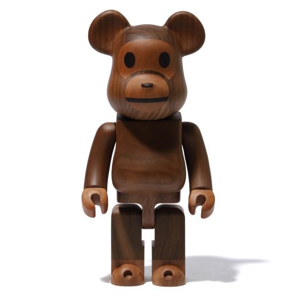 「カリモク」×「BABY MILO®」の木製BE@RBRICKが登場!