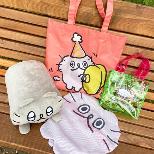 「ねこのぶーちゃん」のお楽しみ袋がヴィレヴァンオンラインで販売中♪
