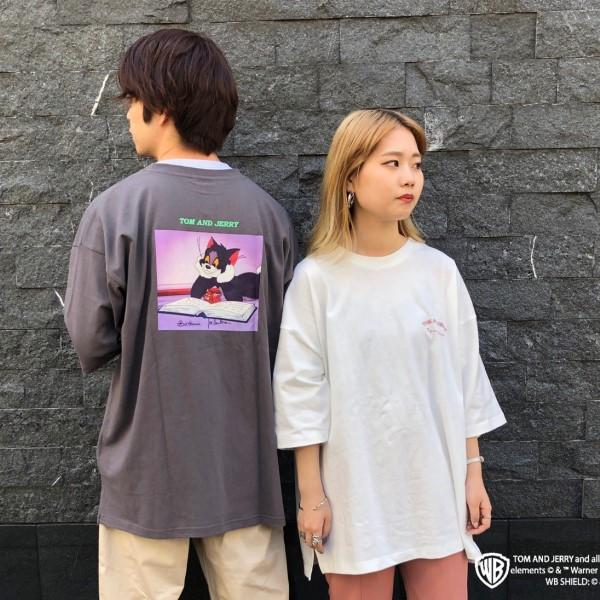 「トムとジェリー」のTシャツが「SPINNS」に登場!別注アイテムもあるよ☆