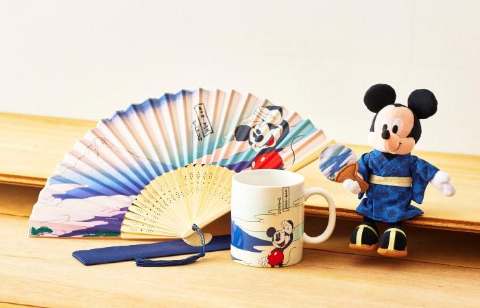 「ショップディズニー」にスペシャルな新商品登場♪浮世絵風アートに富士山モチーフ…