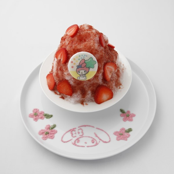 「POWDER ART CAFE HARAJUKU」がサンリオとのコラボカフェに変身!!