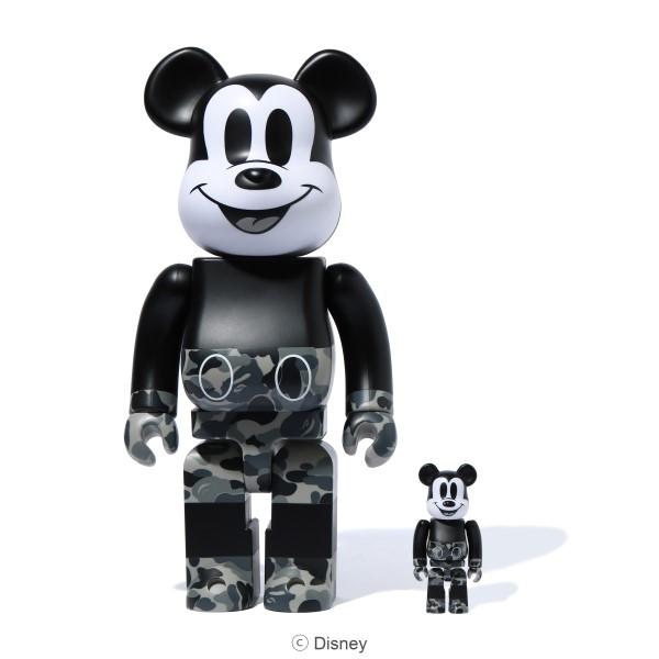 「A BATHING APE®」×「MEDICOM TOY」コラボの特別なミッキーマウスが登場!