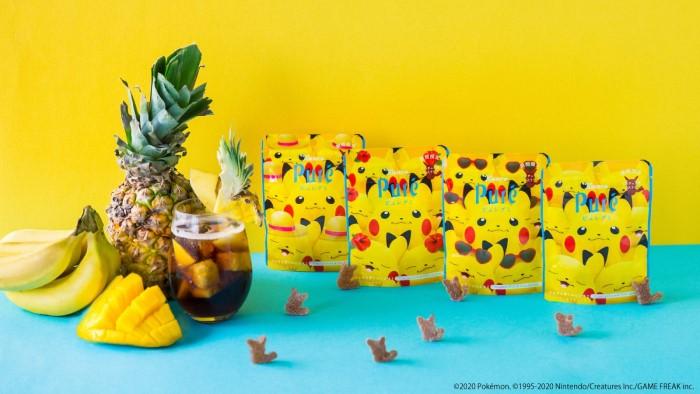 「ピカチュウ ピュレグミ」第2弾!夏デザインのパッケージがかわいすぎ♡