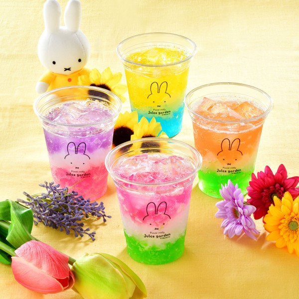 ミッフィーのドリンクスタンド「フラワーミッフィー juice garden」が浅草にOPEN!