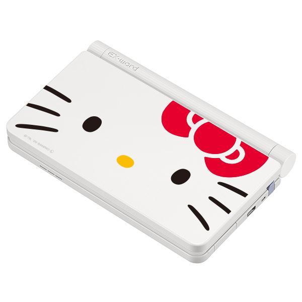 キティちゃんフェイスが可愛い♡「サンリオキャラクターズ」コラボ電子辞書が登場!