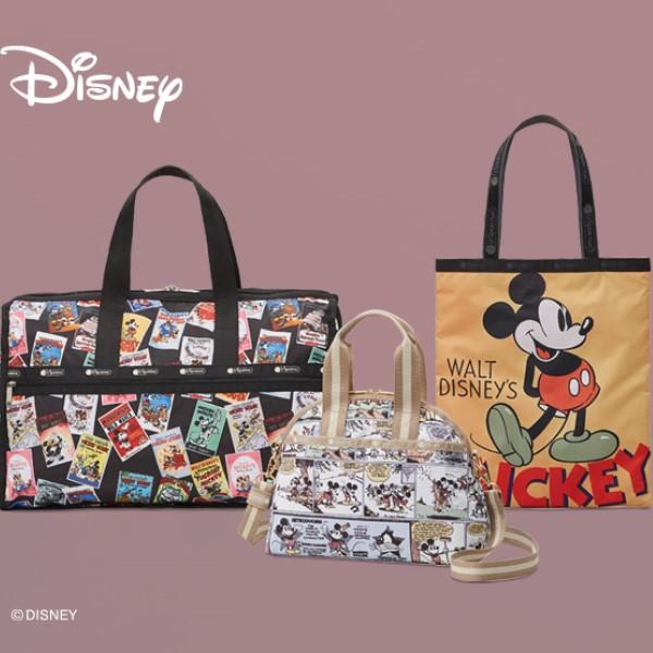 「ミッキーマウス」と「レスポートサック」のコレクションが日本限定発売!
