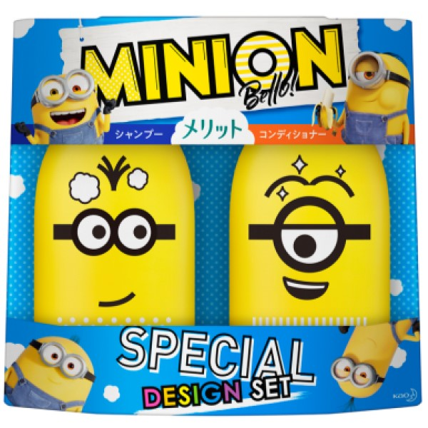 「ミニオン」デザインの「メリット」スペシャルボトルが発売中!