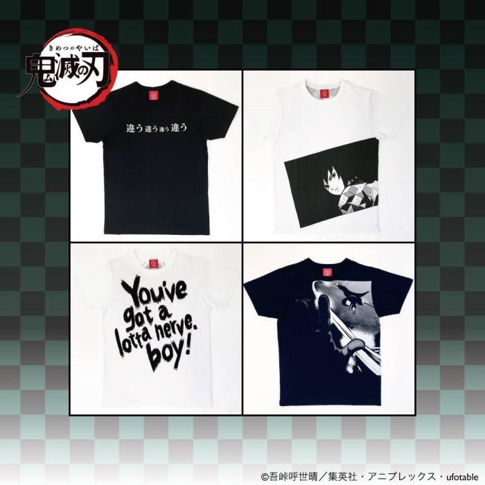 「鬼滅の刃」Tシャツが「OJICO」から発売!無惨や義勇&しのぶデザインが登場