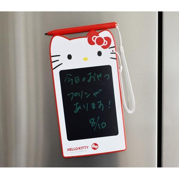 ハローキティの「電子メモタブレット」新登場!繰り返し使えるエコなメモ帳だよ♪