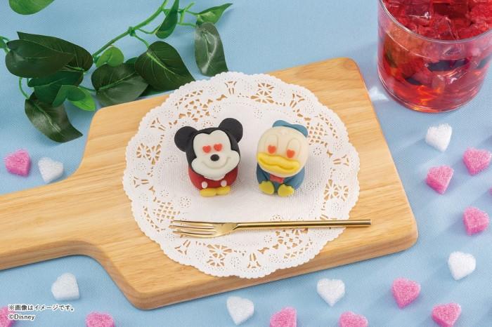 「ミッキー」&「ドナルド」の食べマス登場♪ハート型の目がカワイイ!