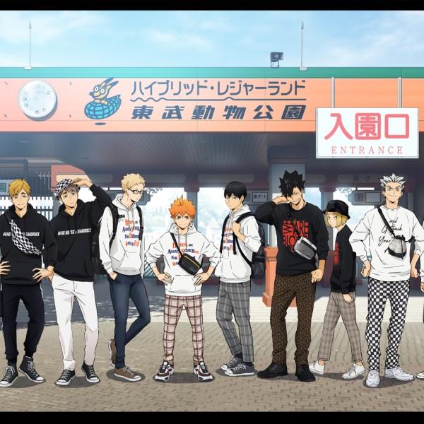 「ハイキュー!! TO THE TOP」×「東武動物公園」コラボイベント開催!!
