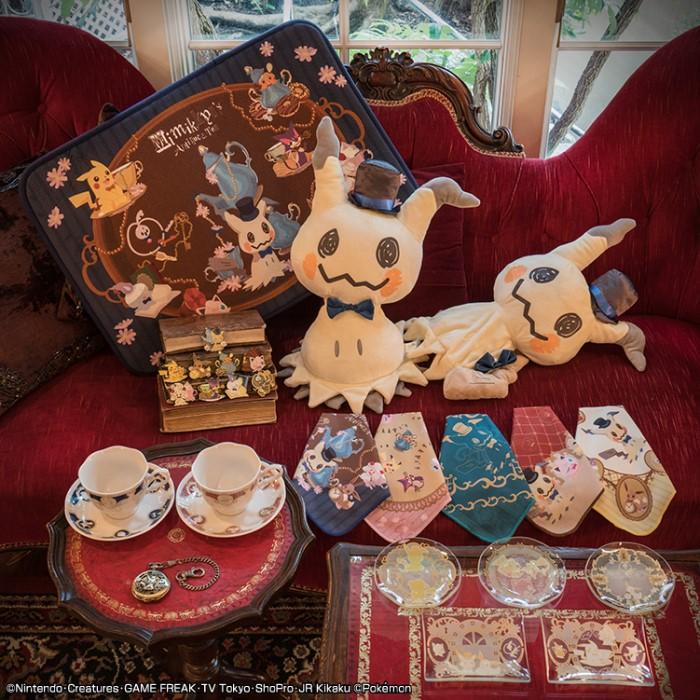 ポケモン「ミミッキュ」が主役の一番くじ!アンティーク調のデザインが可愛い♡