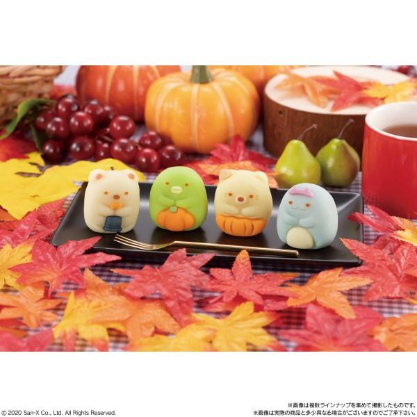 「すみっコぐらし」秋のよそおいの和菓子がファミマに登場♪