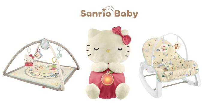 「Sanrio Baby」×「フィッシャープライス」キュートなベビーアイテムが登場♪