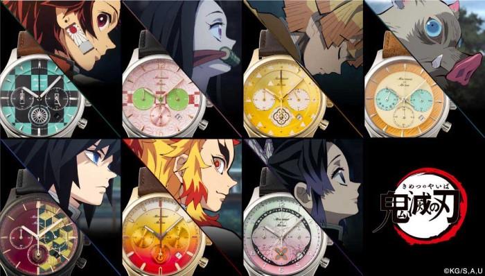 「鬼滅の刃」×「TiCTAC」コラボ腕時計が当たる!「バンコレ!」で鬼滅グッズを買おう♪